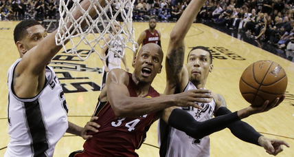 NBA Finals Game 1: Spurs beat the Heat―in more ways than one.