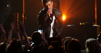 Robin Thicke scheduled to perform at Illinois State Fair