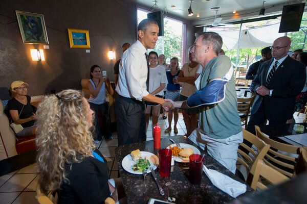 Obama burger run: What's strangest presidential walkabout of all time ...