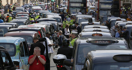 Uber sign-ups soar by 850 percent as cab drivers protest