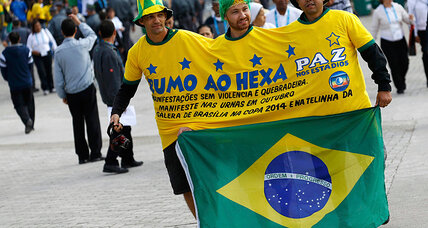 Protests erupt in São Paulo, but not all Brazilians anti-World Cup
