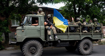 Ukrainian forces reclaim port city from pro-Russian separatists