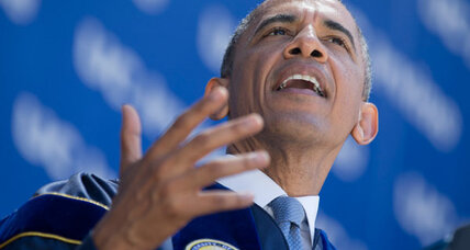 Obama mocks climate-change skeptics: Wise move?