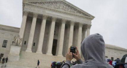 Split Supreme Court shoots down 'straw' gun purchases