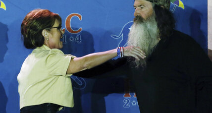 'Duck Dynasty' kin runs for House. Will he face 'kissing congressman'?