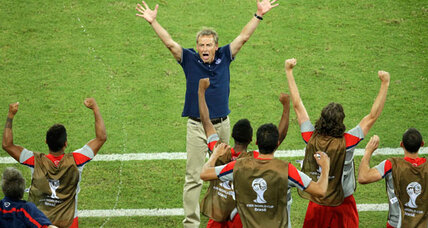 In World Cup win over Ghana, only hints of USA's 'American revolution' (+video)
