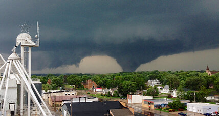 Nebraska town devastated: How rare are double tornadoes? (+video)