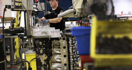 White House hails rebound of US manufacturing, but is it for real? (+video)