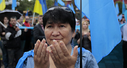 Unsettled again, Crimean Tatars look for direction in Ukraine