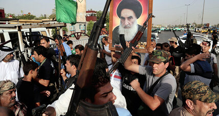With gritty determination, Iraqi Shiites rush to fight ISIS militants