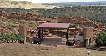 Red Rocks Amphitheatre shooting injures three, suspect sought