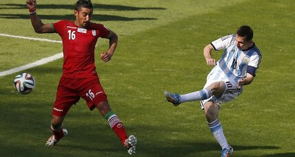 Messi's late goal squeaks Argentina past Iran 1-0