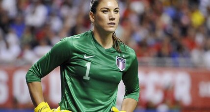 Hope Solo arrested after 'big party' for assault (+video)