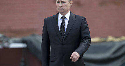 No more little green men? Putin takes military option in Ukraine off table.