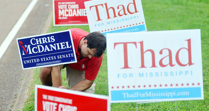 Mississippi braces for political earthquake in Senate GOP runoff