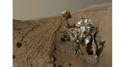 Curiosity rover celebrates one (Martian) year aniversary