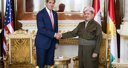 Kerry urges Iraqi unity, but Kurds and ISIS are creating facts on ground