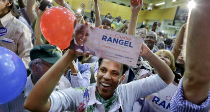 Charlie Rangel holds slim lead in a changed House district