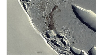 Satellite images of penguin droppings reveal something pretty interesting