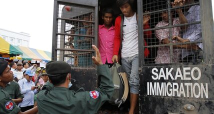 As Thai junta talks nice, foreign migrants remain on edge