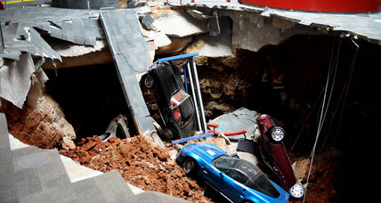 Why Corvette museum decided to fill giant sinkhole