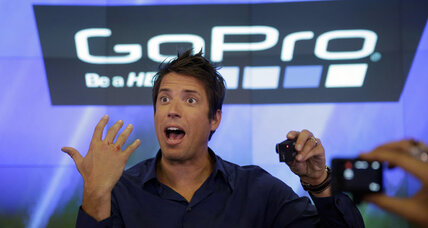 GoPro stock hits Wall Street, company valued at $3 billion