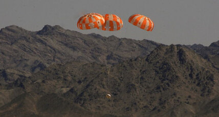 NASA's Orion spaceship passes parachute test (+video)