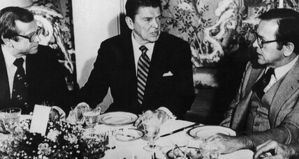 Did Howard Baker save Ronald Reagan's presidency?