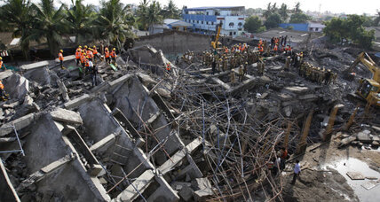 Construction officials detained in India building collapses