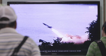 North Korea fires another round of missiles into sea