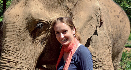 Katherine Connor founded a sanctuary for abused elephants