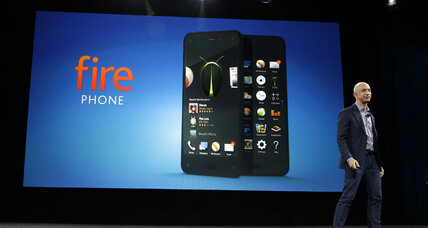 Amazon debuts Fire Phone: 3-D images, gesture controls, and scanning tech