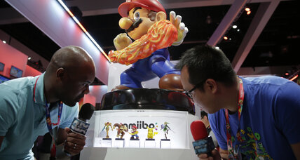 Nintendo's Amiibo toys live in the physical and digital worlds (+video)