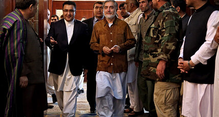 Afghanistan presidential frontrunner narrowly escapes assassination attempt