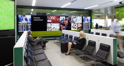 Bloomberg Hub at London City Airport makes a visual splash