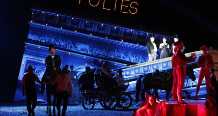 From Paris, with sand: La Traviata opera rocks desert fortress