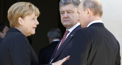 Germany's power of attraction in Ukraine crisis