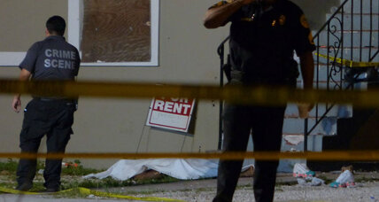 Miami shooting near police station: Are the police outgunned? (+video)