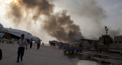 Taliban assault on Karachi airport may torpedo Pakistan PM's peace overtures (+video)