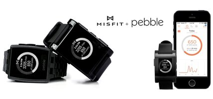 Pebble teams up with Misfit to better track your fitness