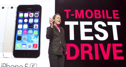 T-Mobile: Take an iPhone for a free test drive