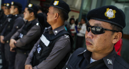 Eight arrested for protesting Thai military junta