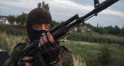 More fighting in east Ukraine, as Kiev says Moscow giving military aid to rebels