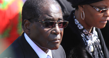 Mugabe's Zimbabwe: Broke and broker