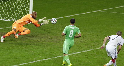 Germany vs. Algeria: World Cup kisses goodbye to Africa (+video)