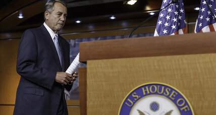 Speaker Boehner says House will sue President Obama