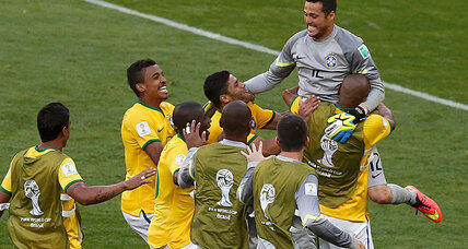 Goalkeeper saves Brazil from World Cup ouster