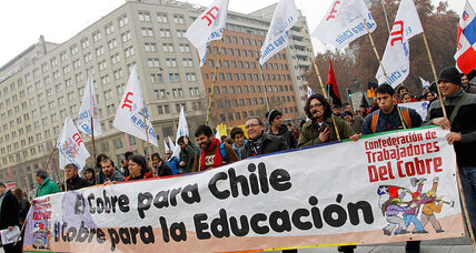 Chile education reforms caught in tangle of interests