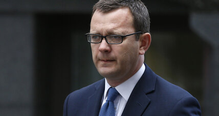 Former British prime minister chief spokesman convicted in phone hacking scandal