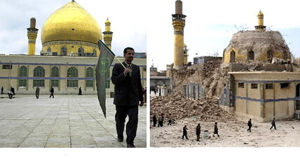 Iraq's Samarra, site of Shiite shrines, could hold key to 'unity or chaos' (+video)